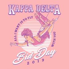 Kappa Delta Bid Day-1