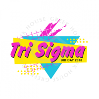 Tri Sigma Bid Day